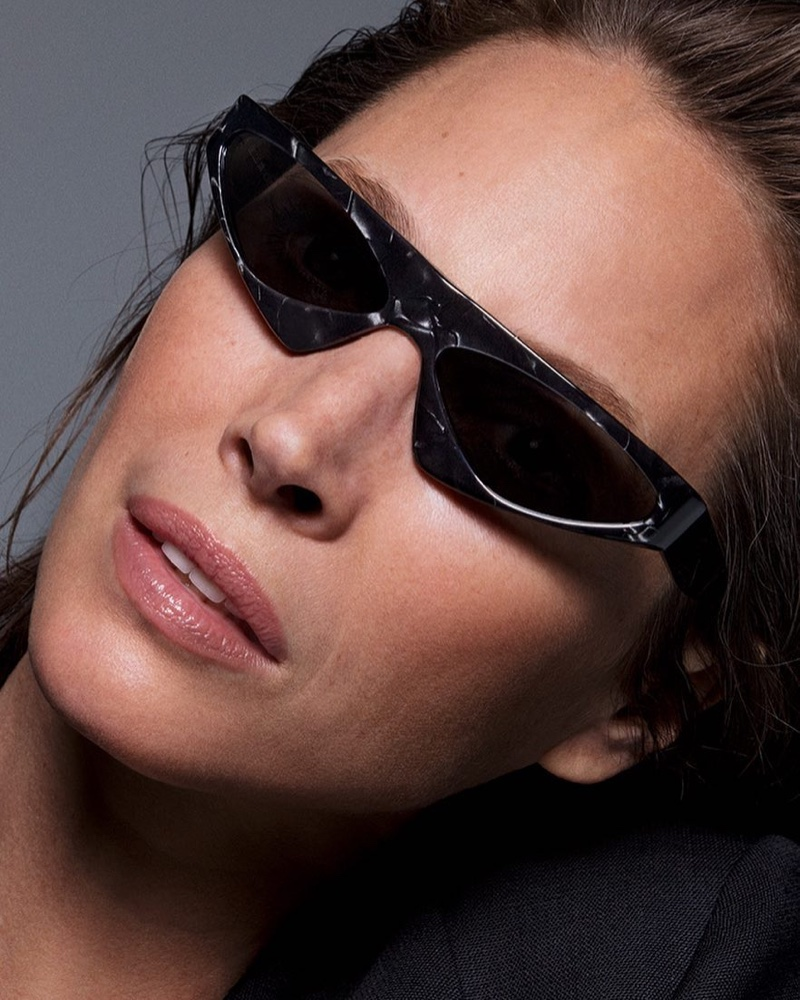 Alain Mikli x Alexandre Vauthier taps Christy Turlington for spring-summer 2019 sunglasses