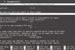 Konfigurasi FTP Server di Ubuntu