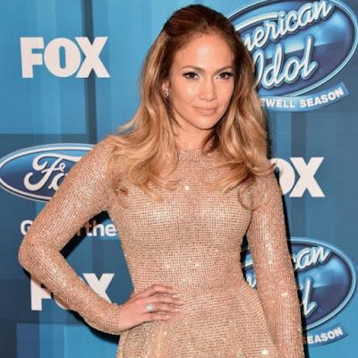 jennifer lopez on sets of popular TV show 'American Idol'