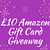 £10 Amazon Gift Card Giveaway