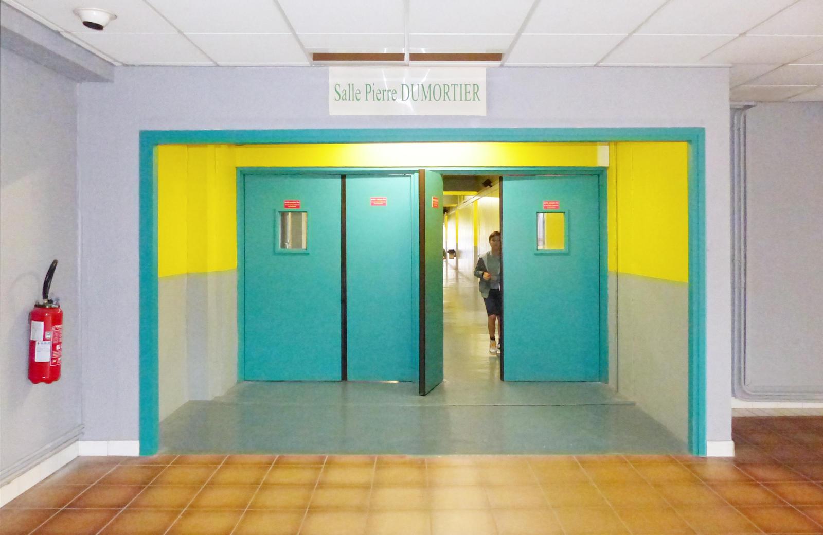 Entrée de la Salle Dumortier du Complexe Lagrange
