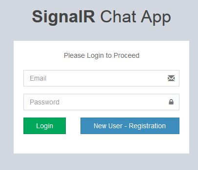 SignalR Chat App With ASP NET WebForm And BootStrap - Part