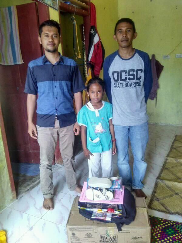 LPD Santuni Perlengkapan Sekolah untuk Anak Dhuafa, Pidie