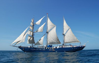 Tours Galápagos Yates de primera clase Crucero Velero Mary Anne