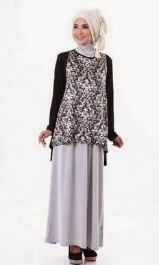 Tren baju batik muslim modern terbaru untuk remaja