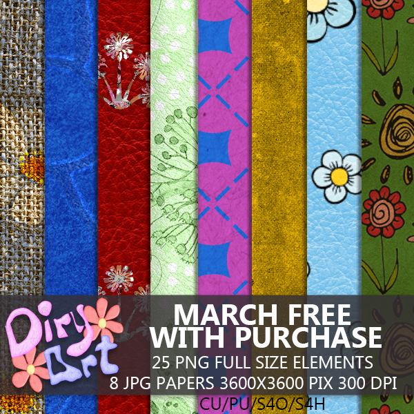 * March Free with Purchase *