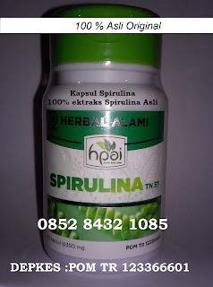 Ragam khasiat manfaat serbuk spirulina asli untuk kesehatan obat penyakit