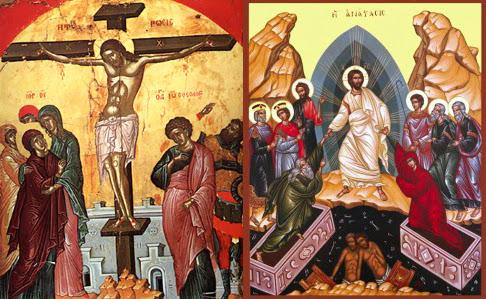 Αποτέλεσμα εικόνας για σταυρωση και ανασταση