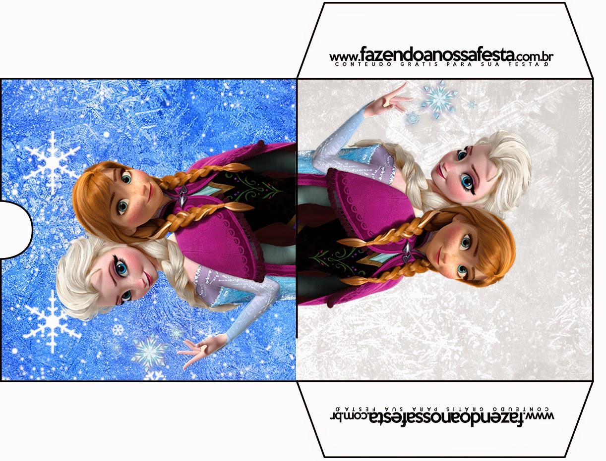 Funda de Frozen para CD's para imprimir gratis.