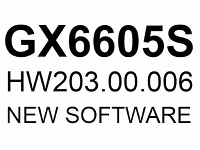 GX6605S HW203.00.006 POWERVU KEY NEW SOFTWARE