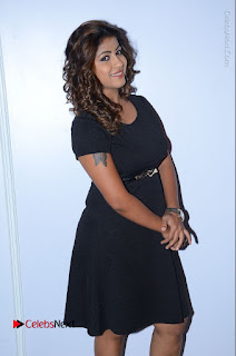 Tollywood Actress Geethanjali Thasya Latest Pos in Black Short Dress at Nanna Nenu Na Boyfriends Audio Launch  0029.JPG