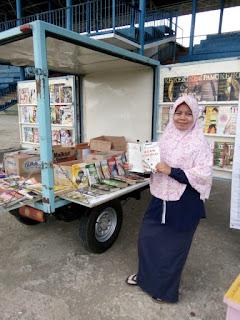 Minat Baca Rendah, K7P Adakan Perpustakaan Keliling Dibumi Serepat Serasan