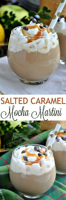 Salted Caramel Mocha Martini