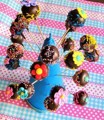 Pin Kuchen Am Stiel Schoko Cake Pops Torte Bestellen Cake