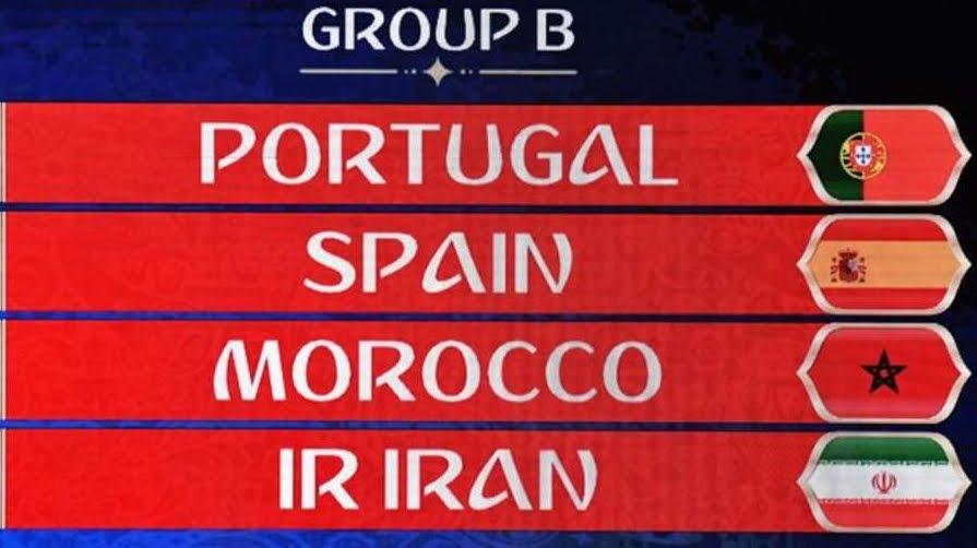 Russia 2018: risultati partite Gruppo B con Portogallo Spagna Marocco Iran | Mondiali di Calcio