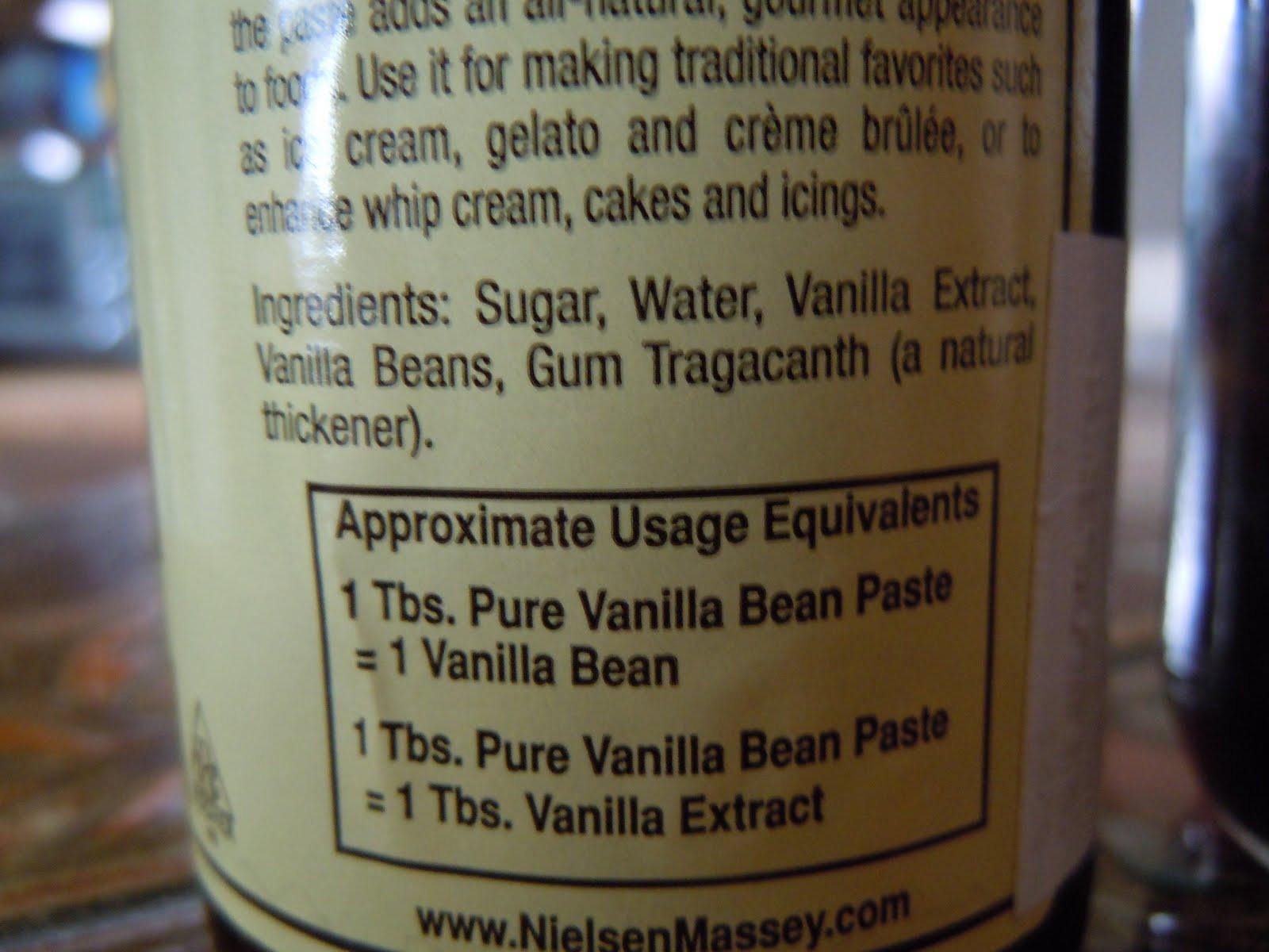 Natural vanilla flavor ingredients / Nescafe vanilla instant coffee