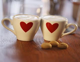 Heart Shape Good Morning Coffee Love Images for Girlfriend, Boyfriend