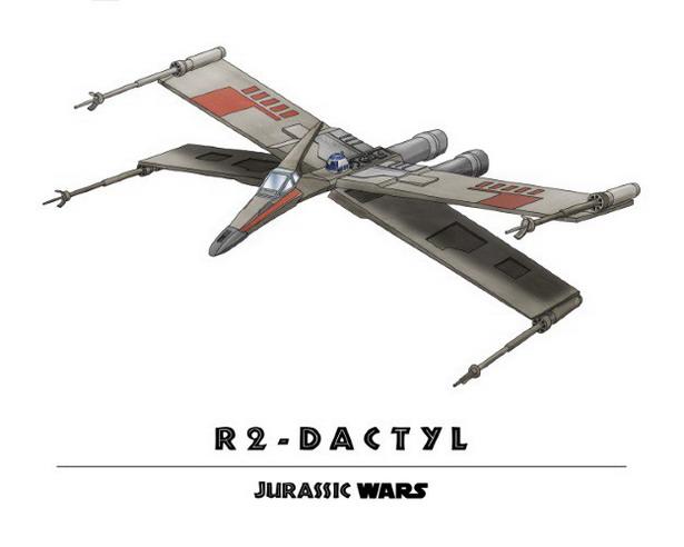 R2-D2 + Pterodactyl = R2-Dactyl