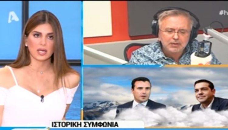 Μαλλιά κουβάρια Βερύκιος – Τσιμτσιλή για το «Μακεδονία» (ΒINTEO)