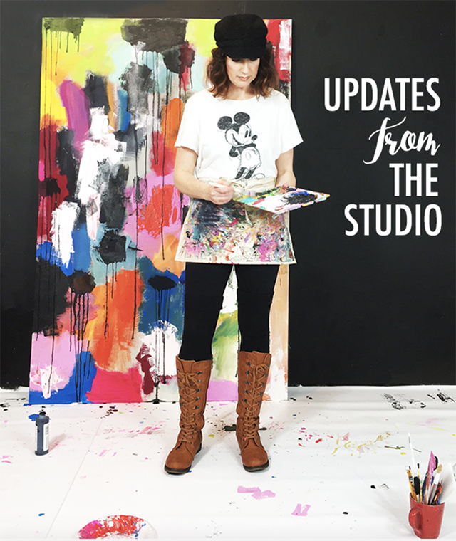 updates from the studio- NEW classes are here!