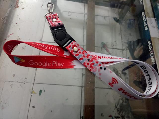 Jual tali lanyard harga murah dan berkualitas di Jakarta