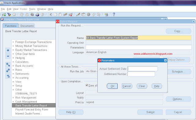 Run Concurrent program without Using SRS Window, askhareesh blog for Oracle Apps