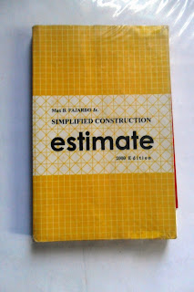 Simplified construction estimate by max fajardo
