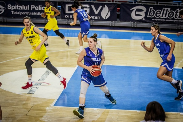 ΕΟΚ | Ευρωπαϊκό Νέων Γυναικών: Ελλάδα – Μεγάλη Βρετανία 50-58. Tο Σάββατο 14 Ιουλίου στις 15.00 με την Ισλανδία για τις θέσεις 9-12