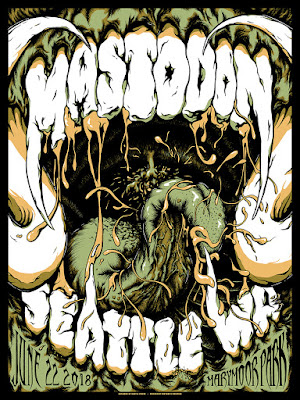 Mastodon limited edition posters