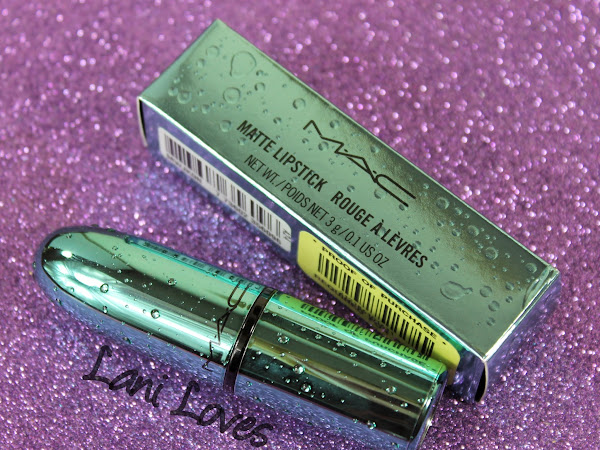 MAC Monday | Alluring Aquatic - Enchanted One & Mystical Lipsticks Swatches & Review