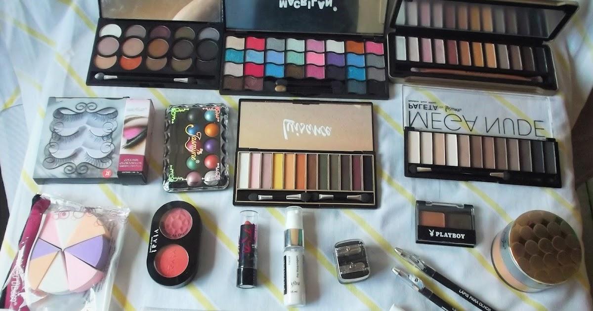 f666b682260 Marcante Delicada  Comprinhas de maquiagens na loja J.Pan Maquiagem