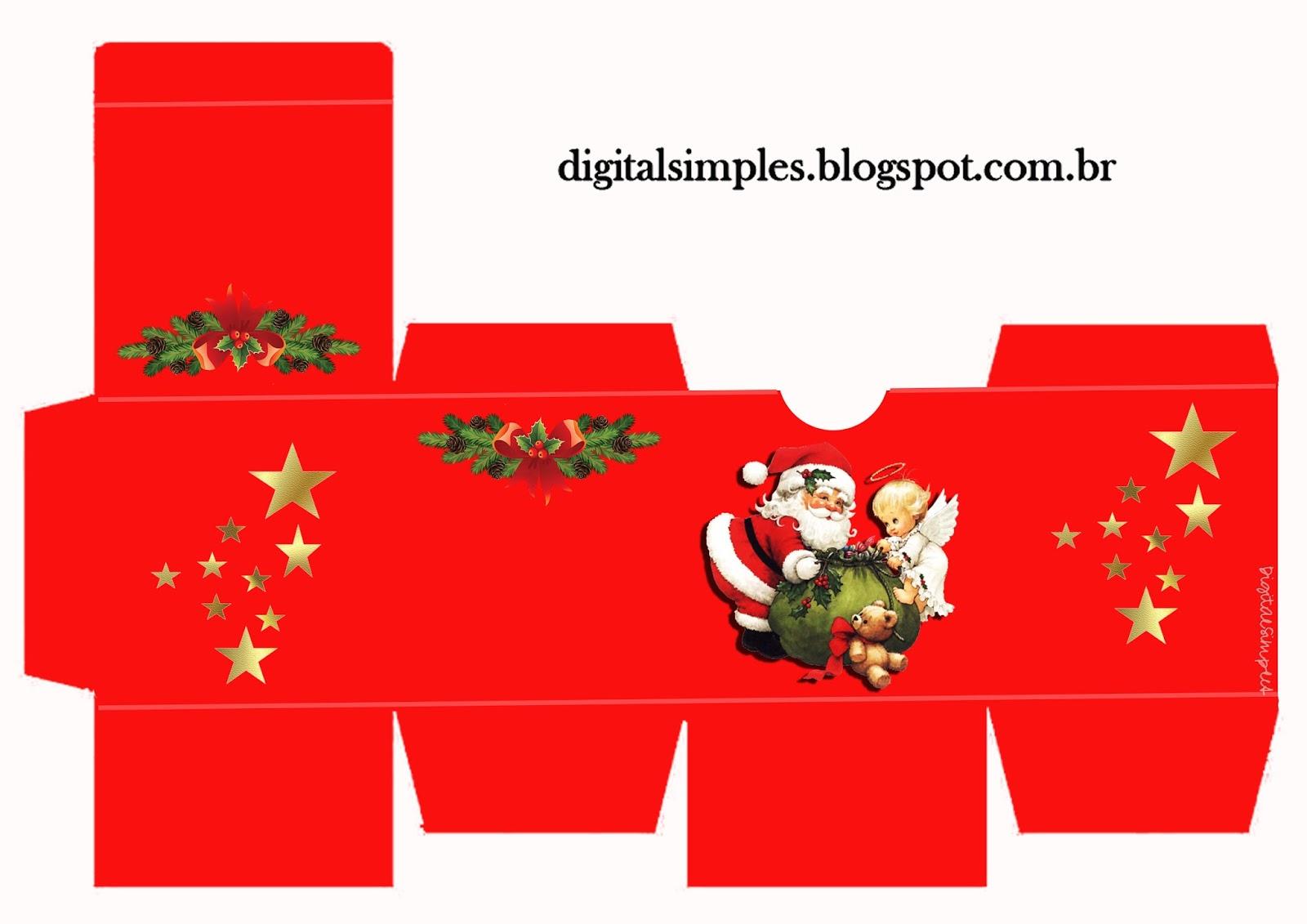 Caixa De Bis Personalizada Natal E Mais Caixas Convites