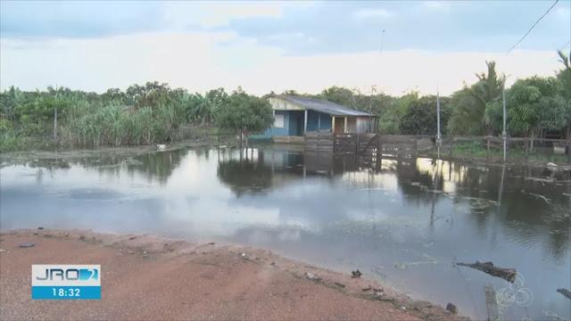 Cheia dos rios afeta produtores em Nova Mamoré e famílias precisam deixar casas