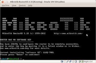 Cara Instalasi Mikrotik Router Os