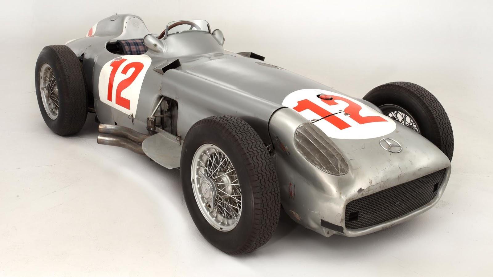$29,600,000 – 1954 Mercedes-Benz W196