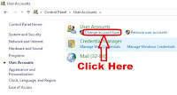 how to change user account type in windows 8