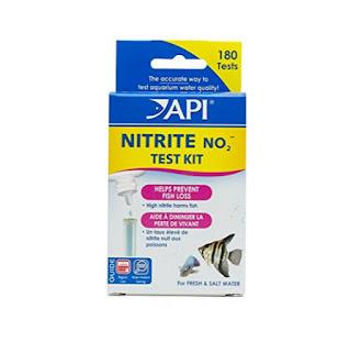 bộ test nitrite API cho cả hồ nước ngọt & nước mặn