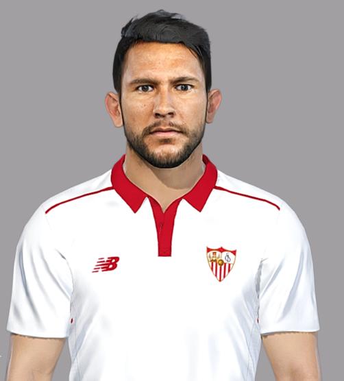 PES 2018 Walter Montoya (Sevilla Fc) Face by SeanFede