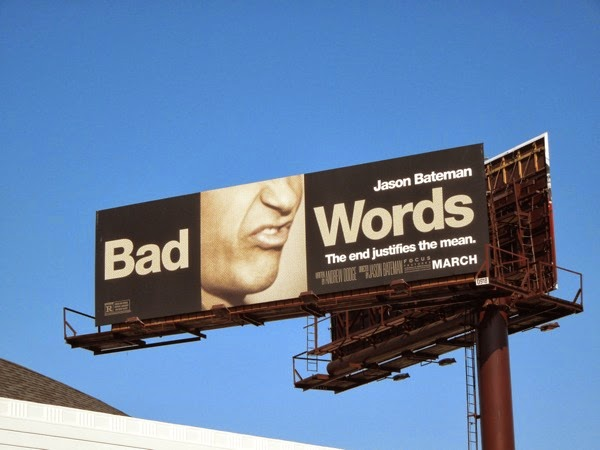 Bad Words movie billboard