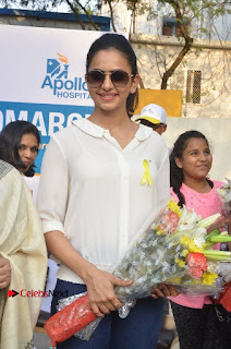 Actress Rakul Preet Singh at Endometriosis Awareness Walk at Apollo Cradle  0027.jpg
