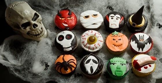 Grave Stones Halloween Cake Decorations