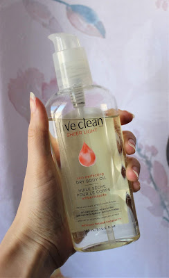 Live Clean Sheer Light Dry Body Oil