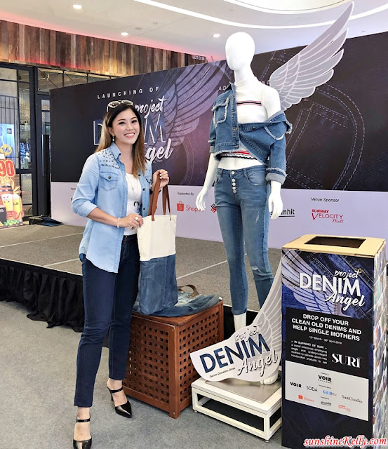 VOIR, SURI, Project Denim Angel, CSR, Upcycle Denim, Fashion