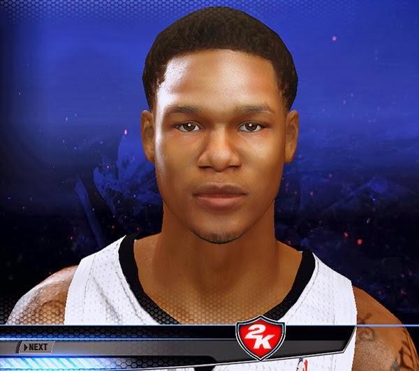 NBA 2k14 Ben McLemore Cyberface Patch