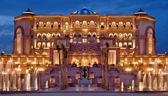 وظائف شاغرة فى قصر الإمارات في أبوظبي 2019