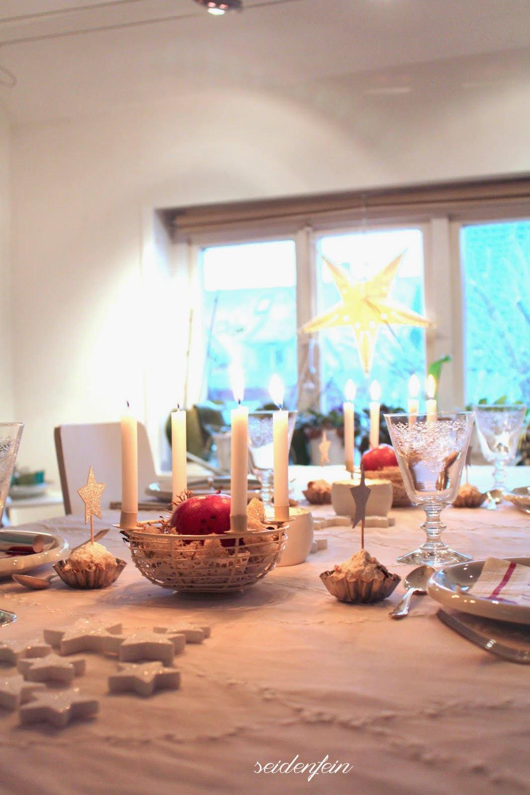 seidenfeins blog vom sch nen landleben 24 heilig abend christmas is here. Black Bedroom Furniture Sets. Home Design Ideas