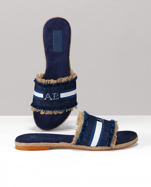 Monogram_Slides_sandals_denim_Belle_vivir_Blog