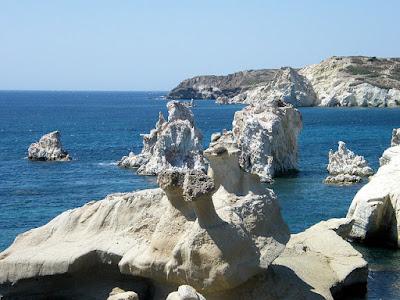 kimolos grecia spiagge