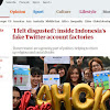 Media Inggris Ungkap Tim Buzer Ahok Produksi Akun Palsu dengan Foto Wanita Berjilbab