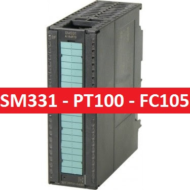 SM331 - Pt100 - Analog input FC105